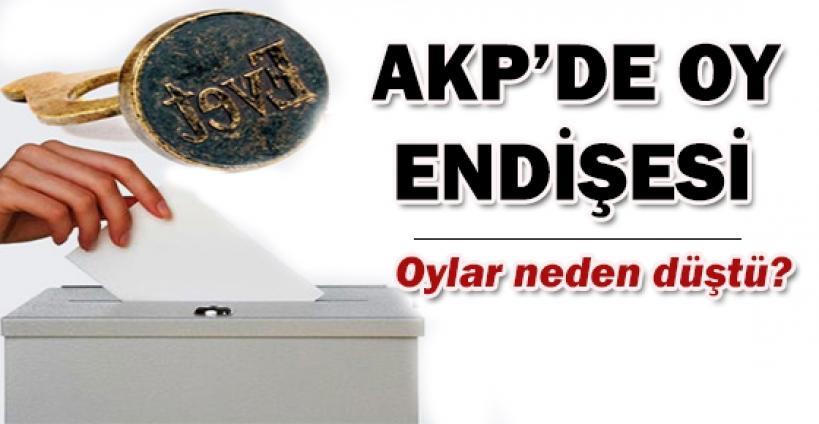 AK Parti'nin masasındaki son anket!