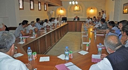AK Parti'ye geçen Midyat Belediyesi ilk meclis toplantısını yaptı