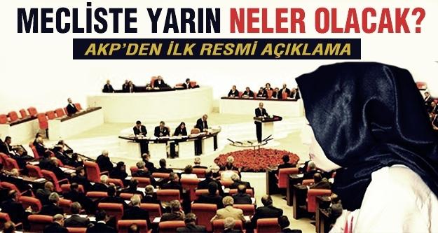 AKP'den ilk açıklama geldi!