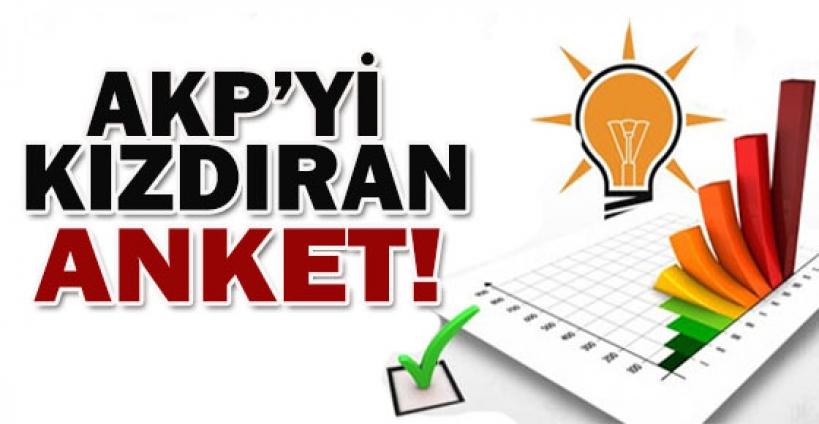 AKP'yi kızdıracak anket!