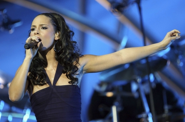 Alicia Keys'ten Türkiye'de ilk konser