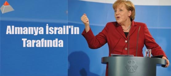Almanya İsrail'in tarafında