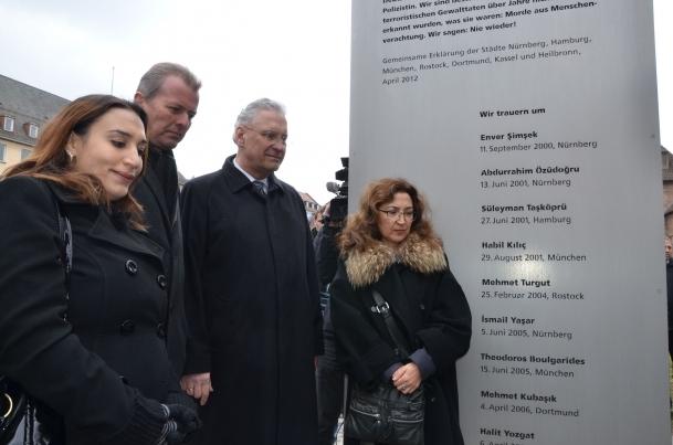 Almanya'da öldürülen Türkler için anıt