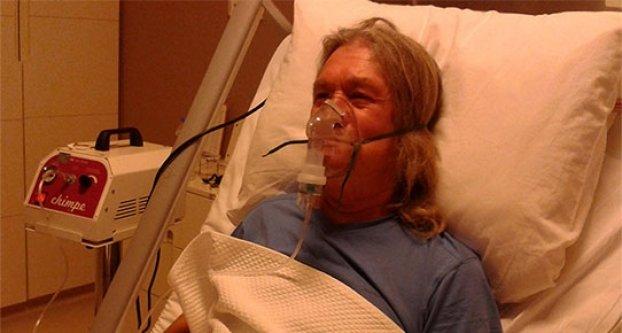 Ameliyattan sonra hapse girdi!