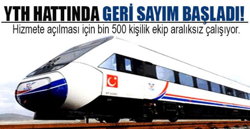 Ankara-İstanbul YHT hattında geri sayım başladı