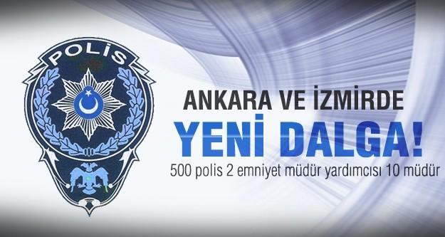 Ankara, İzmir ve Eskişehir emniyetinde deprem