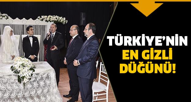 Ankara'da çok gizli düğün!