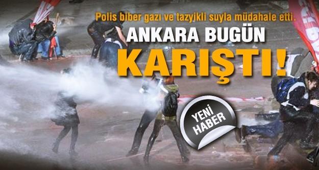 Ankara'da olay!