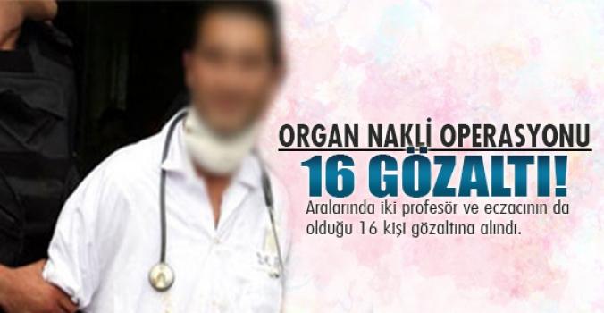 Ankarada Organ nakli operasyonu...
