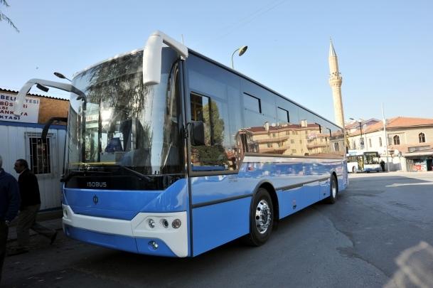 Ankara'da özel halk otobüslerine internet