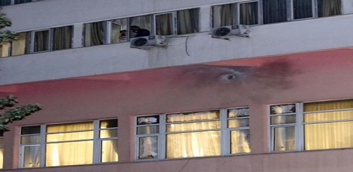 Ankara'da  Roketatarlı Saldırı...