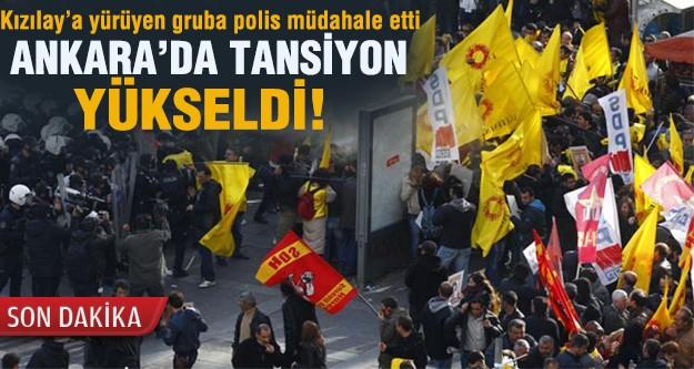 Ankara'da tansiyon yükseldi