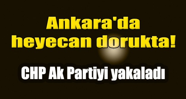 Ankara'da yerel Seçimlerde hangi parti önde