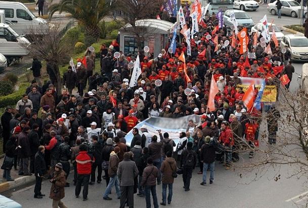 """Ankara'daki """"torba yasa"""" protestosuna dava"""