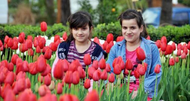 Antalya'ya bahar geldi!