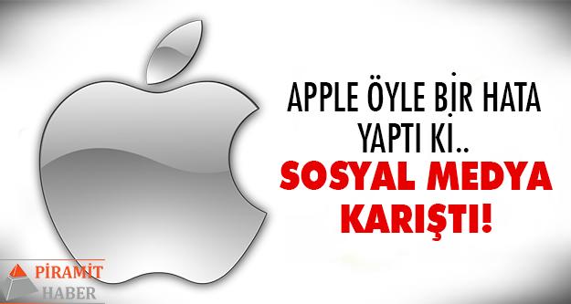 Apple kullanıcıları şaştı kaldı!