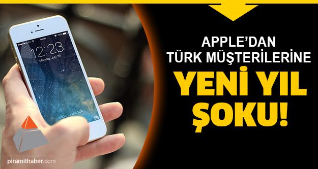 Apple Türk müşterilerine bunu yaptı!