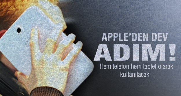 Apple'dan dev teknoloji!