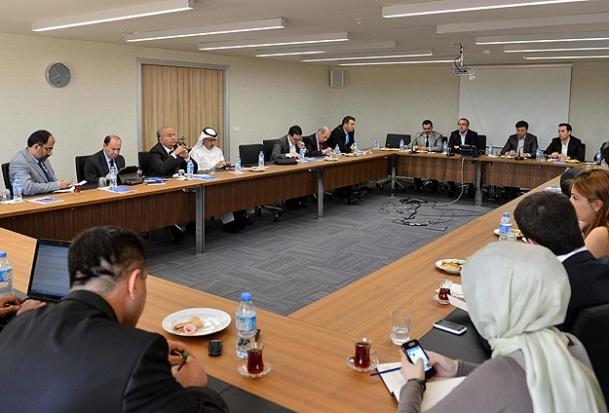Arap gazeteciler SETA'yı ziyaret etti
