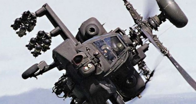 Askeri helikoptere ateş açıldı!