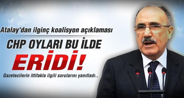 Atalay'dan ilginç koalisyon açıklaması