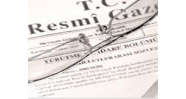 Atamalar Resmi Gazete'de!