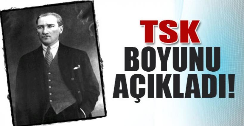 Atatürk'ün boyu 1.74