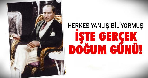 Atatürk'ün ilk nüfus kayıt belgesi ortaya çıktı!