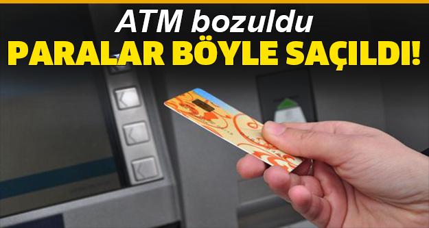 ATM'lerden para çekenler şaşkınlık yaşadı!