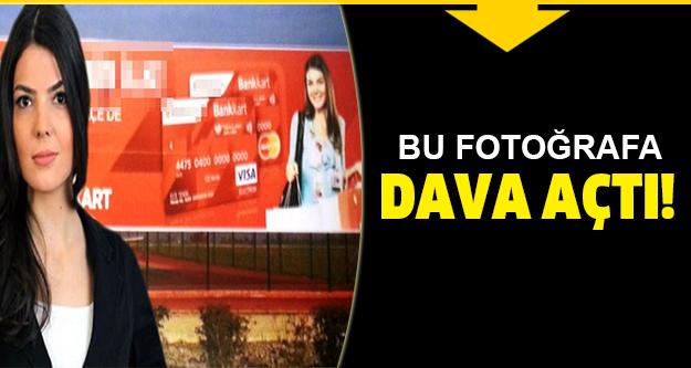 Ayşe Büşra Çubukçuoğlu bu fotoğrafa dava açtı