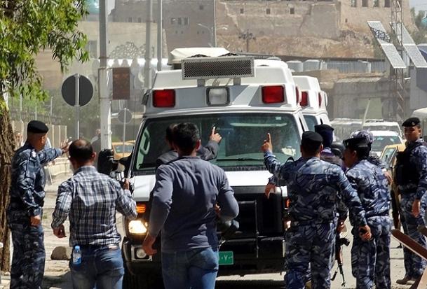 Bağdat'ta kanlı cuma