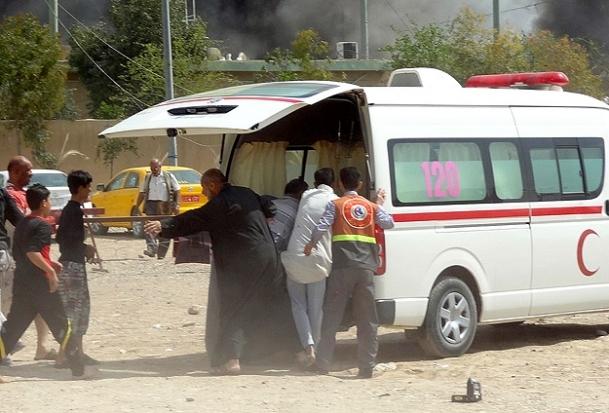 Bağdat'ta pazar yerinde patlama