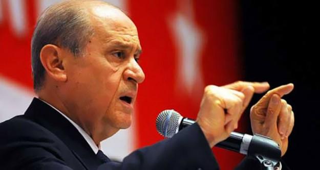 Bahçeli: 'Recep Tayyip Erdoğan sen bittin!'