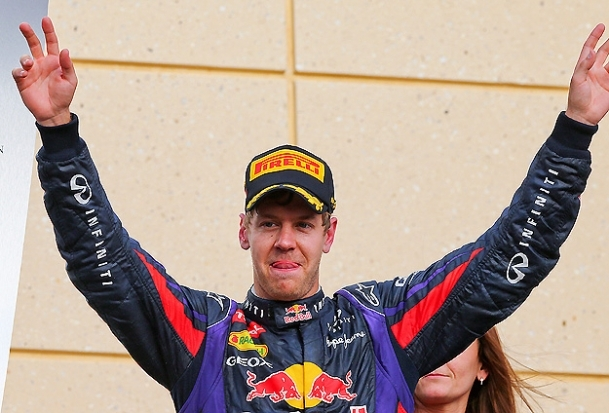 Bahreyn Grand Prix'si Vettel'in