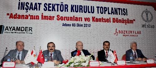 Bakan Bayraktar'a Adana'nın imar sorunları ve kentsel dönüşümü sunuldu