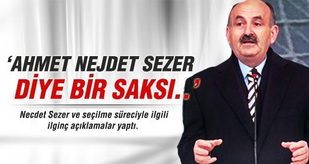 Bakan Müezzinoğlu: Ahmet Necdet Sezer diye bir saksı...