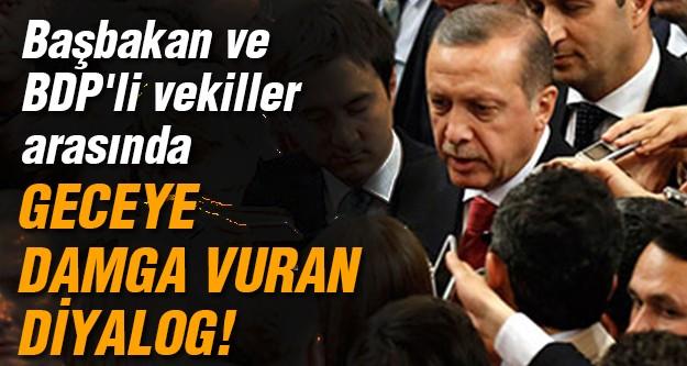 Başbakan BDP'lilere ne sordu?