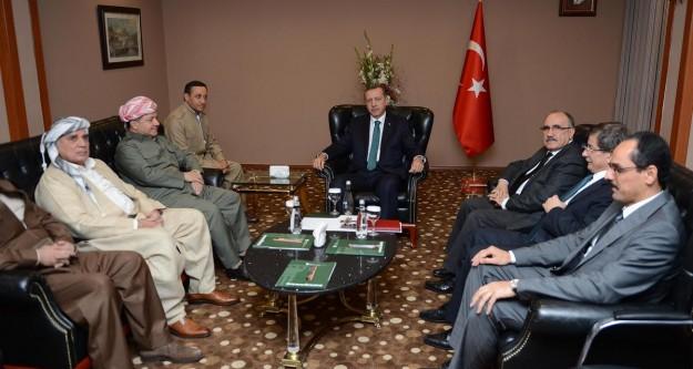 Başbakan Erdoğan, Barzani ile görüştü