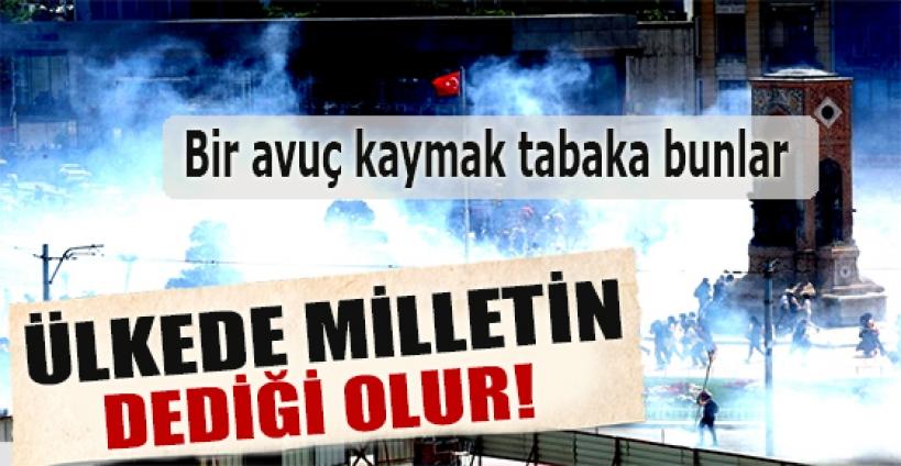 Başbakan Erdoğan: Bir avuç kaymak tabaka bunlar