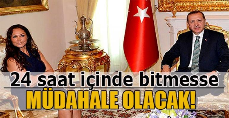 Başbakan Erdoğan Hülya Avşar ile görüşme gerçekleştirdi.
