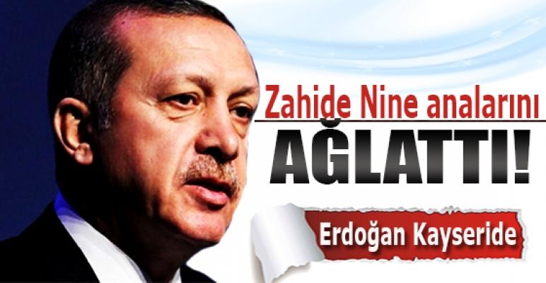 Başbakan Erdoğan Kayseride
