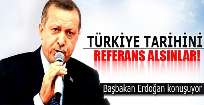 Başbakan Erdoğan konuşuyor