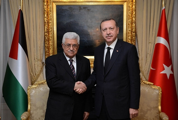 Başbakan Erdoğan Mahmud Abbas ile görüştü