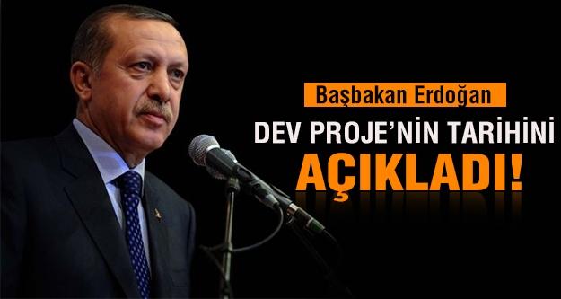 Başbakan Erdoğan, TANAP için tarih verdi