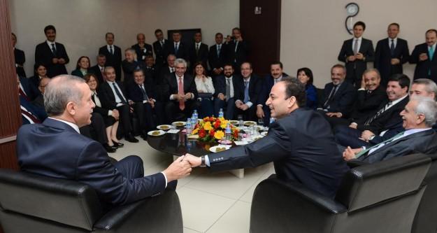 Başbakan Erdoğan ve Baydemir arasında esprili diyalog