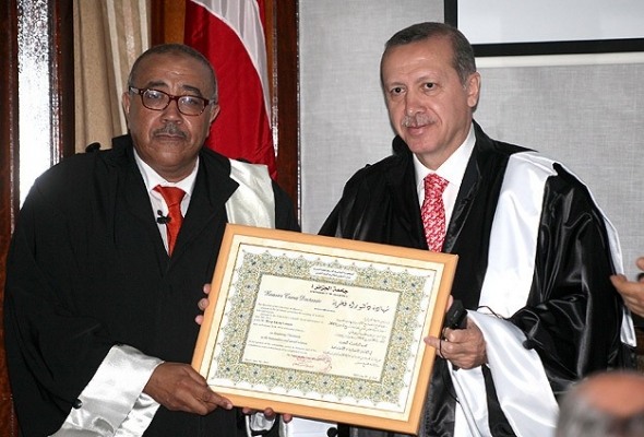 Başbakan Erdoğan'a fahri doktora unvanı