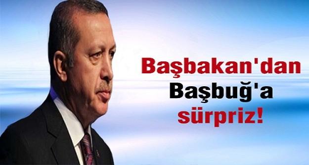 """Başbakan Erdoğan'dan Başbuğ'a """"geçmiş olsun"""" telefonu"""