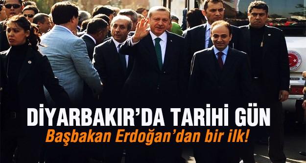 Başbakan Erdoğan'dan bir ilk!
