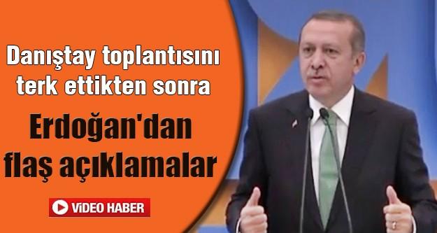 Başbakan Erdoğan'dan Feyzioğlu'na cevap