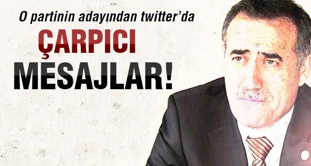 Başkan adayı twitter'dan şok sözler söyledi!